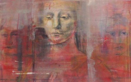 Beggars Teeth – Exhibition of Paintings, Performance and Discussion at Glasgow Project Room April /May 2017